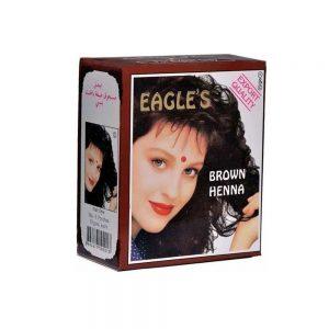 Eagles Henna Brown Hint Kınası Kahve 6'lı 60 GR