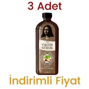 3 Adet Yacon Şurubu 3 x 150 ML