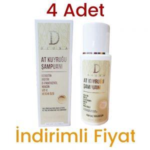 4 Adet Diona At Kuyruğu Şampuan 4 x 300 ML
