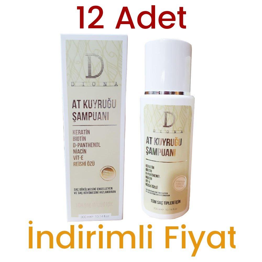 12 Adet Diona At Kuyruğu Şampuan