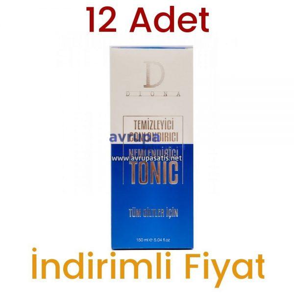 12 Adet Diona Cilt Temizleme Toniği  12 x 150 ML