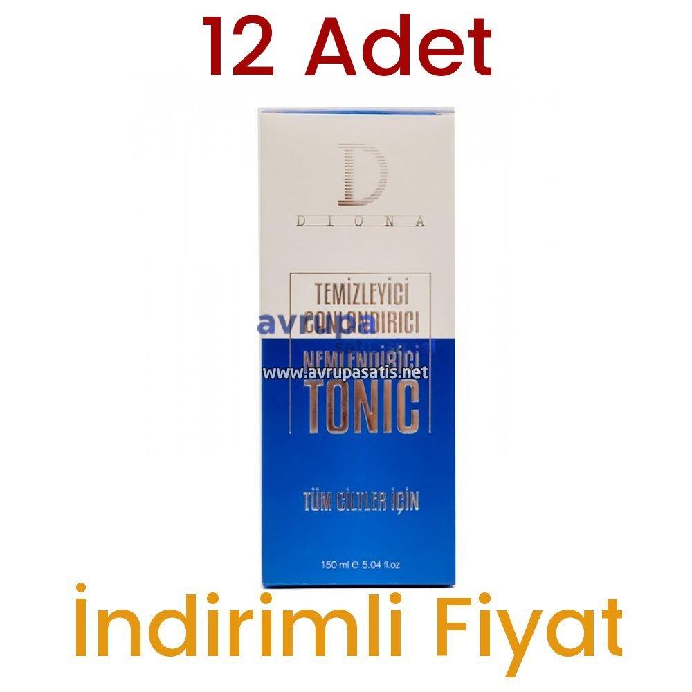 12 Adet Diona Cilt Temizleme Toniği