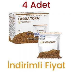 4 Adet Cassia Tora Tozu Premium Orjinal
