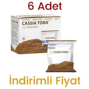 6 Adet Cassia Tora Tozu Premium Orjinal