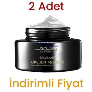 2 Adet Q Clinic Squalane Köpek Balığı Cilt Bakım Kremi 2 x 50 ML