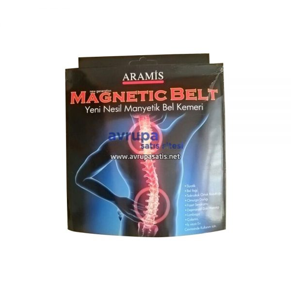 Aramis Magnetic Belt Yeni Nesil Manyetik Bel Kemeri