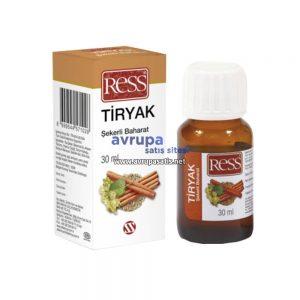 Ress Tiryak Şekerli Baharat 30 ML
