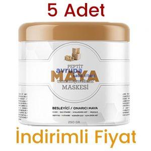 5 Adet Peptit Maya Maskesi 5 x 250 GR