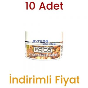 10 Adet Erica At Kestanesi Kremi 10 x 100 ML