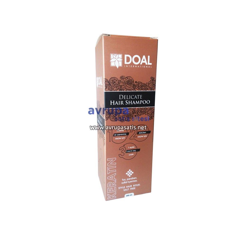Doal Delicate Hair Shampoo Keratin Şampuan