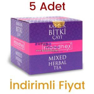 5 Adet Moodhex Karışık Bitki Çayı 45x5 Günlük