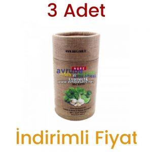 3 Adet Nurs Lokman Hekim Limon Maydanoz Sarımsak Kürü 60 Softjel