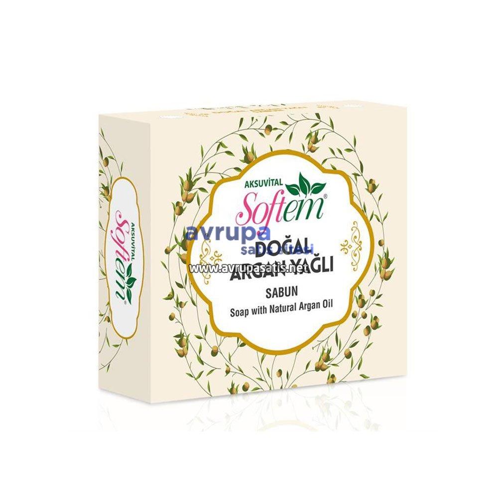 Aksuvital Softem Doğal Argan Yağlı Sabun