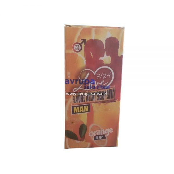 Flavored Instant Energy Drink Man Orange 9 GR