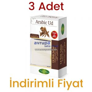 3 Adet Phytoflora Ud Özlü Sabun 125 Grx3  (Kese ve Sabunluk Hediyeli)
