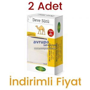 2 Adet Phytoflora Deve Sütü Sabunu (Kese ve Sabunluk Hediyeli)