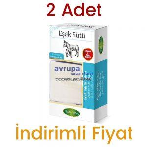2 Adet Phytoflora Eşek Sütlü Sabun (Kese ve Sabunluk Hediyeli)