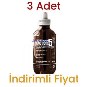 3 Adet Factor 5 Skin Serum 3 x 150 ML
