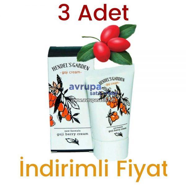 3 Adet Hendels Garden Goji Kremi 3 x 50 ML