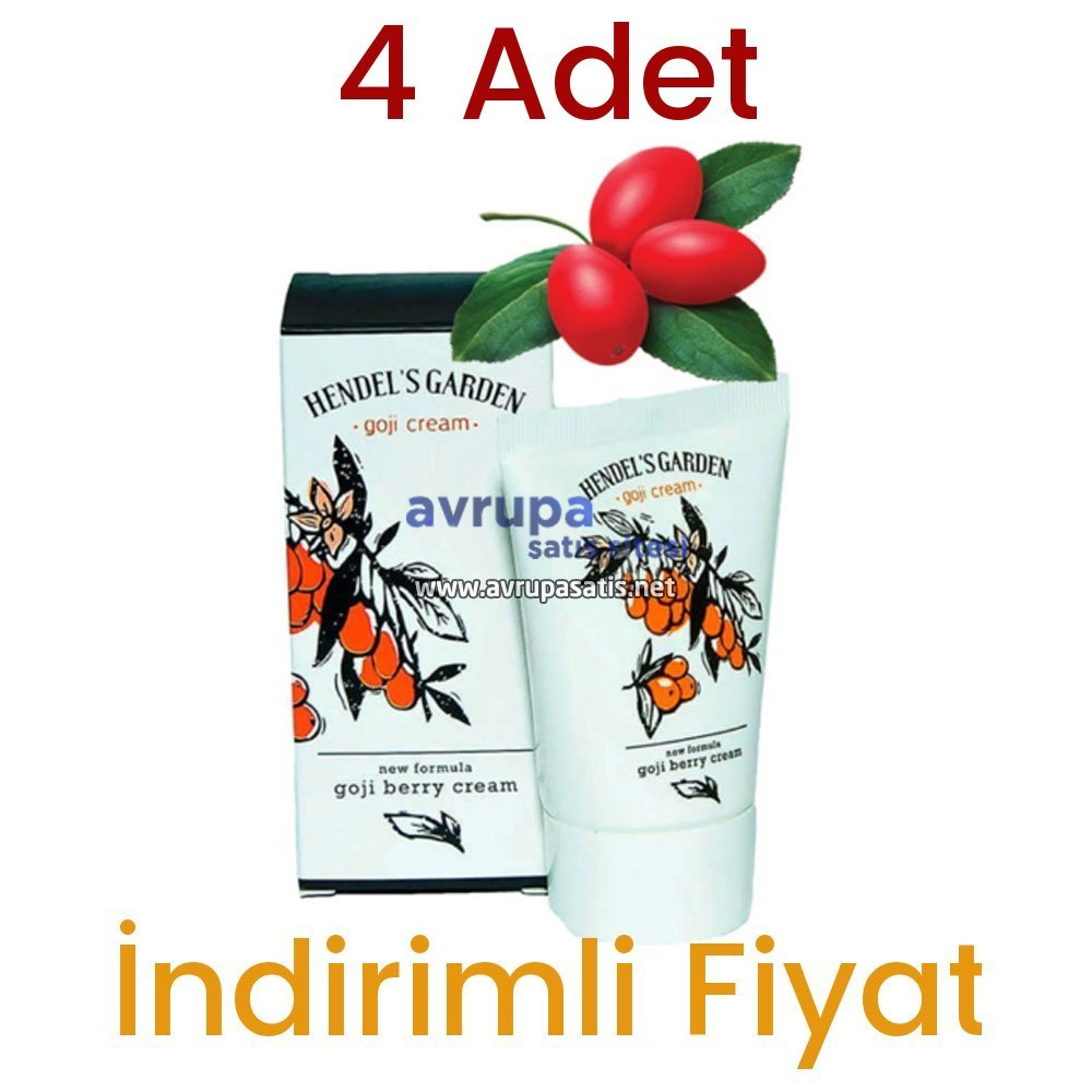 4 Adet Hendels Garden Goji Kremi