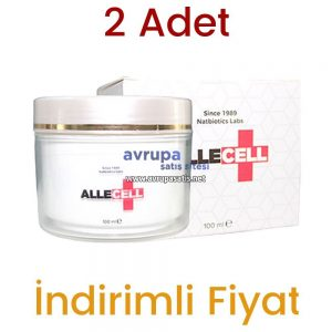 2 Adet Allecell Kremi 2 x 100 ML