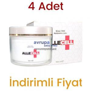 4 Adet Allecell Kremi 4 x 100 ML