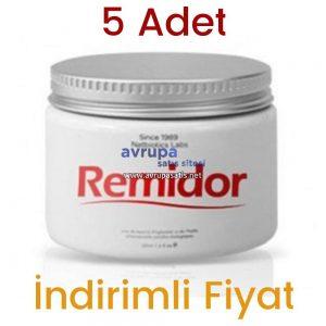 5 Adet Remidor Masaj Kremi 5 x 100 ML
