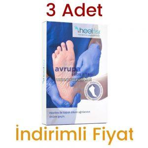 3 Adet Heeltex Topuk Dikeni Çorabı