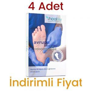 4 Adet Heeltex Topuk Dikeni Çorabı
