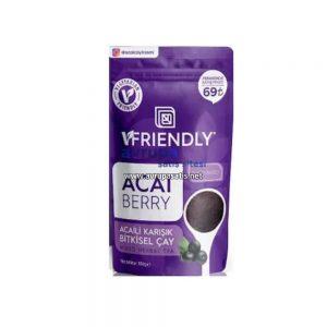 Acai Berry Çayı Acaili Bitkisel Çay Vfriendly 100 GR