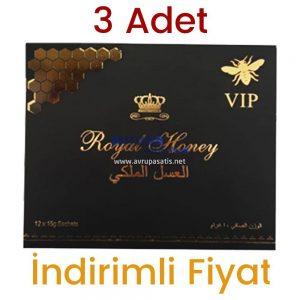 3 Adet Royal Honey Bal