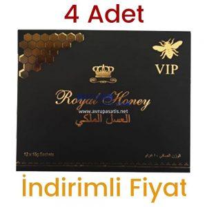 4 Adet Royal Honey Bal