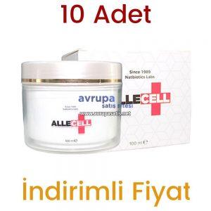10 Adet Allecell Kremi 10 x 100 ML