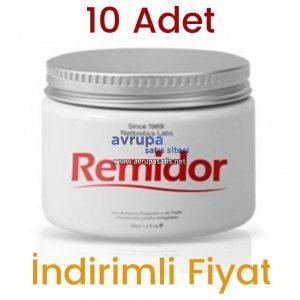 10 Adet Remidor Masaj Kremi 10 x 100 ML