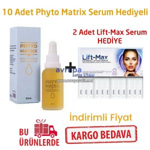 10 Adet Phyto Matrix Serum + 2 Kutu Lift Max Serum Hediye