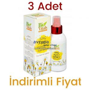 3 Adet Bio Vitals Saç Açıcı Sprey 3 x 150 ML