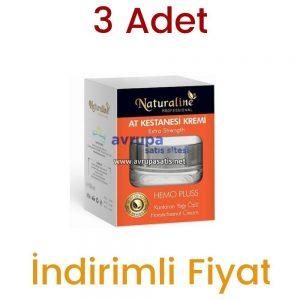 3 Adet Naturaline At Kestanesi Kremi 3 x 50 ML