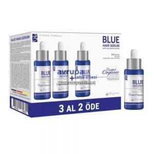 3 Adet Zigavus Mavi Saç Bakım Serumu 3 Al 2 Öde 3 x 33 ML