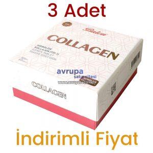 3 Adet Balen Collagen Hidrolize Kollajen (Tip1) 60 Tablet 3 x 800 MG