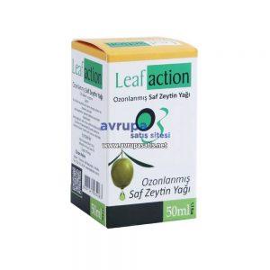 Leaf Action Ozonlanmış Saf Zeytin Yağı 50 ML