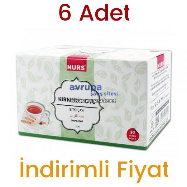 Nurs Lokman Hekim Kırkkilit Otu Bitki Çayı 20 Süzen Poşet 6 Adet