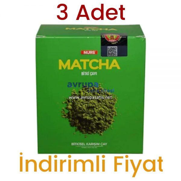 Nurs Lokman Hekim Matcha Çayı 30 Süzen Poşet 3 Adet