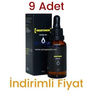 Prostonor Damla Bitkisel Destek Kürü 30 ML 9 Adet