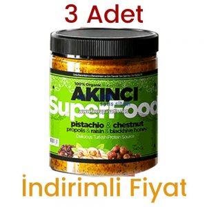 Akıncı Super Food 230 GR 3 Adet