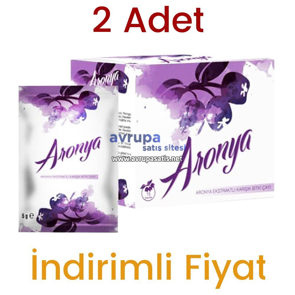 Aronya Çayı 2 Kutu 30 Günlük Kullanım