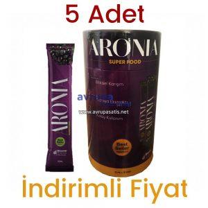 Aronia Super Food 5 Kutu 75 Şase x 15 ml
