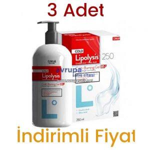Lipolysis Lipoliz Jel 3 Adet