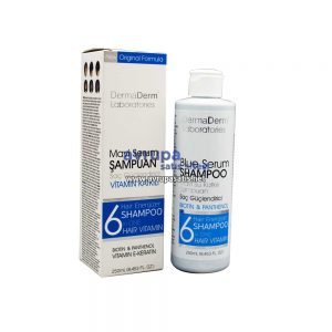 Dermaderm Mavi Şampuan 250 ML