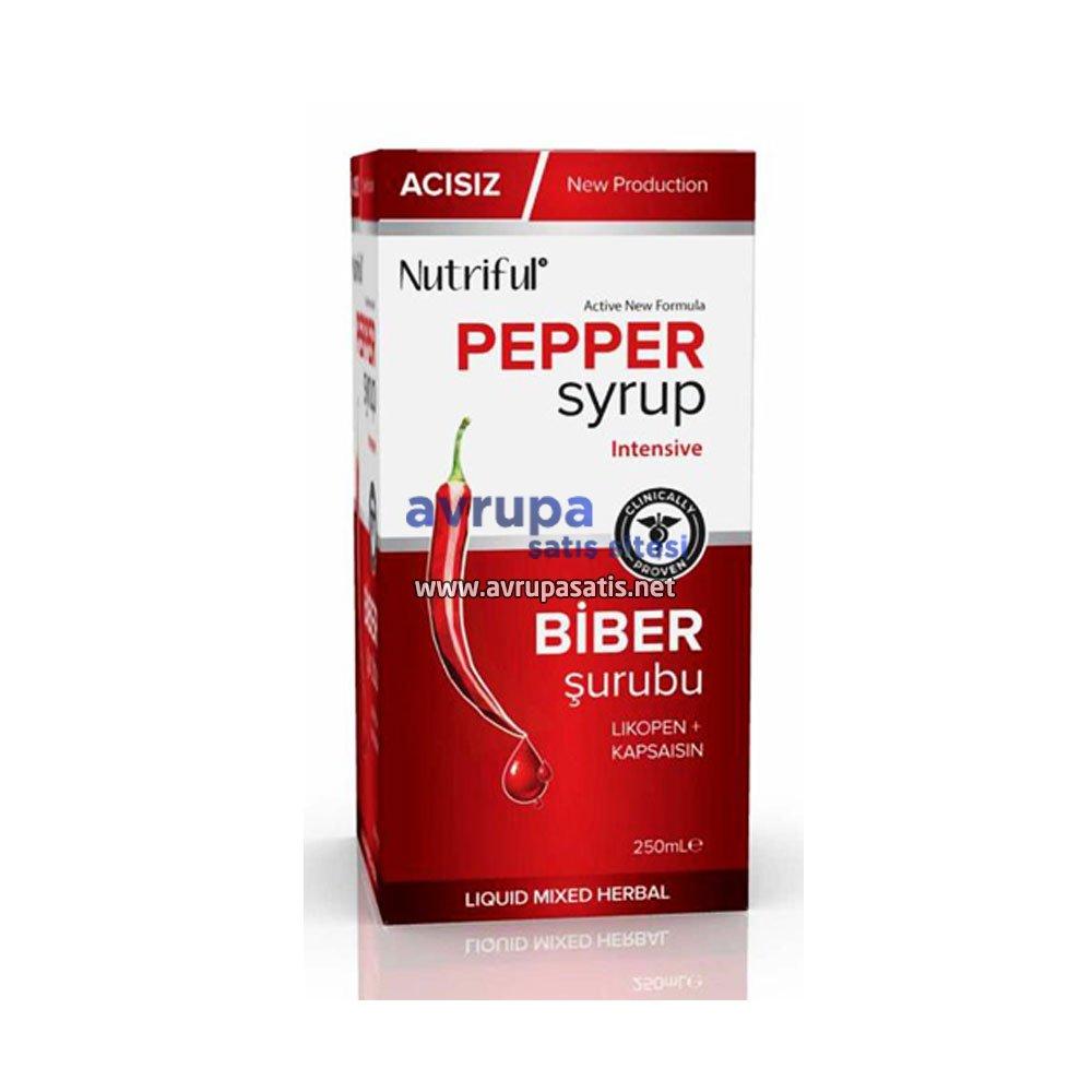 Acısız Biber Şurubu Nutriful Pepper Syrup