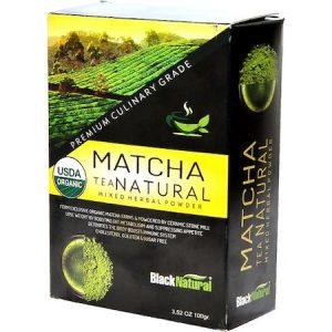 Black Natural Matcha Karışık Toz Bitki Çayı 100 G